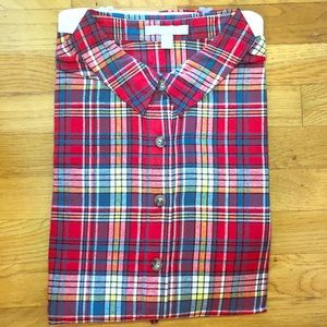 New Woman Within Classic Flannel Shirt 18W